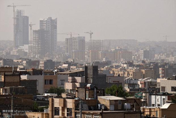 کیفیت هوای مشهد برای سومین روز متوالی در شرایط ناسالم نهاده شد