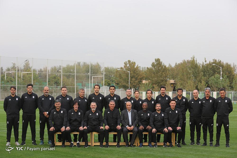 مربیان تیم ملی فوتبال تماشاگر دیدار پرسپولیس و کاشیما، کی روش فردا به تهران می آید
