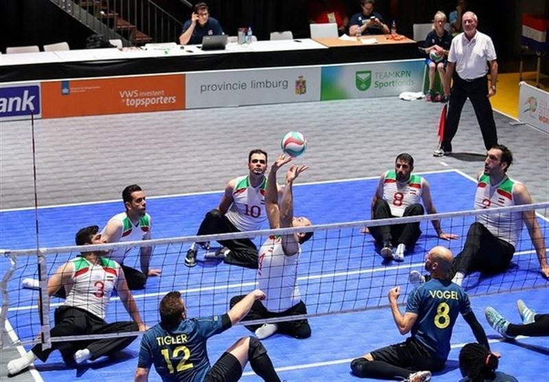 قضاوت داوران ایرانی در رقابت های والیبال نشسته قهرمانی آسیا