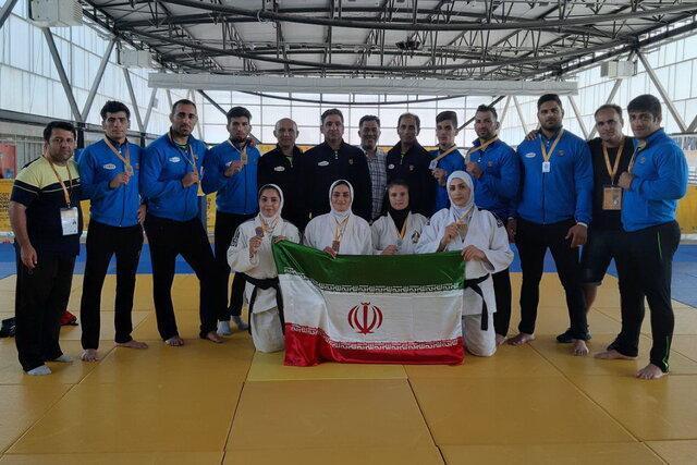 11 مدال جودوکاران ایران در بازی های جهانی کارگران، طلای تیمی کشتی فرنگی هم به ایران رسید