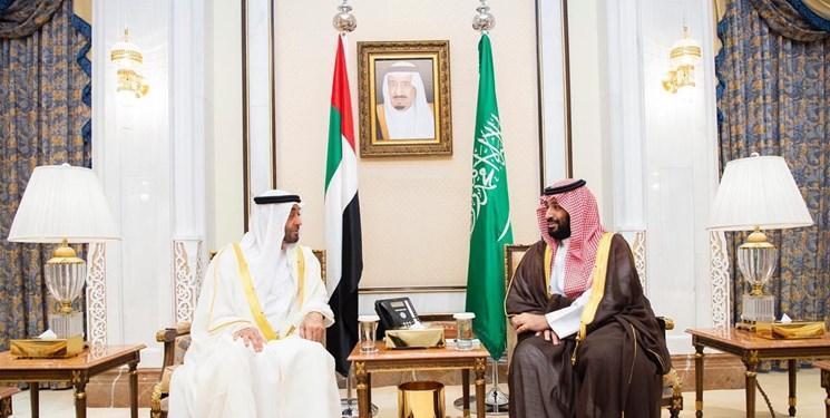 دیدار ولی عهد ابوظبی با شاه و ولی عهدی سعودی